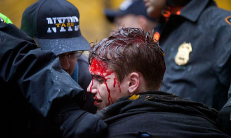 Roman batut Occupy Wall Street